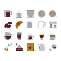 A set of coffee related items