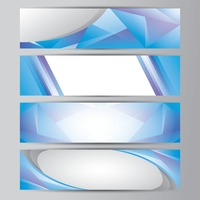 Abstract banner collection