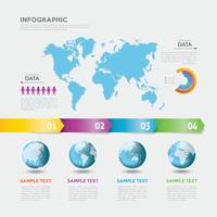 Abstract infographic background