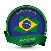 Amazonas map label