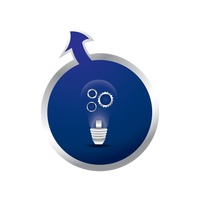 Bulb and settings icon