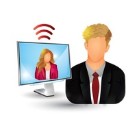 Business people streaming