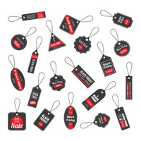 Collection of black friday sale tags