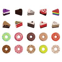 Collection of cakes and donuts
