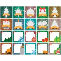 Collection of christmas frames
