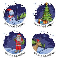 Collection of christmas greetings