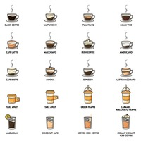 Collection of coffee