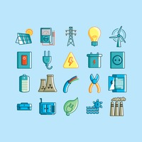Collection of electrical equipments