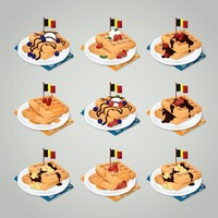 Collection of gaufre
