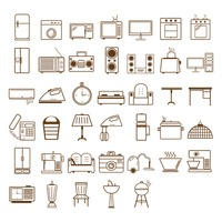 Collection of home appliances