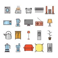 Collection of household appliances