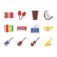 Collection of musical instrument