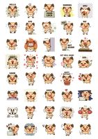 Collection of pig characters
