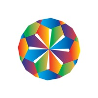 Colorful icosahedron design