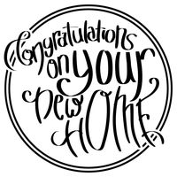 Congratulations On Your New Home Clip Art Clipart Free Download - New home clipart