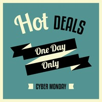 Cyber monday great sale wallpaper