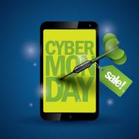 Cyber monday sale on smartphone