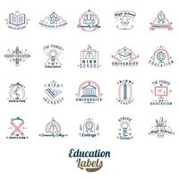 Education labels