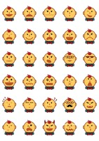Emoticons of boy