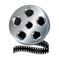 Film reel Vector Image - 1805892   StockUnlimited