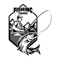 Fishing tours badge