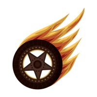 Flaming Racing Tires On Mud Stock Vector Illustration ... |Flamming Tire