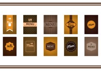 Food and beverage menu design