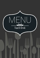 Food and drink menu design