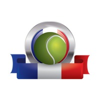 France flag with tennis ball