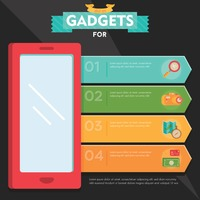 Gadgets infographic