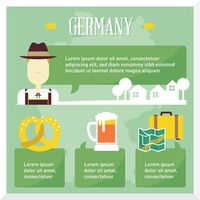Germany travel infographic