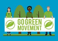 Go green movement