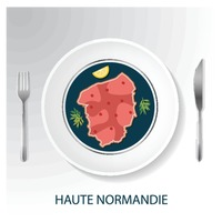Haute normandie map