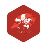 Hong kong map icon