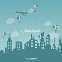 Indianapolis travel background