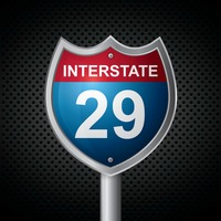 Interstate 29 route sign