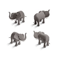 Isometric elephants