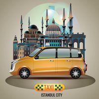 Istanbul city taxi