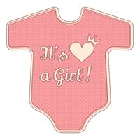 Its a girl sticker