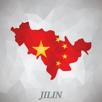 Jilin map