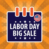 Labor day big sale design