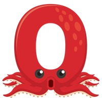 Letter o for octopus