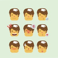 Man's many expressions