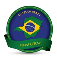 Minas gerais map label