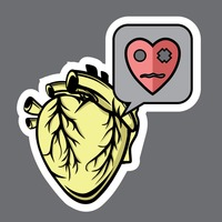Miserable heart