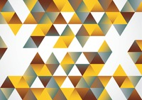 Multi color seamless triangle pattern