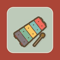 Multi colour xylophone