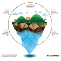 Nature infographic