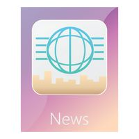 News mobile app icon