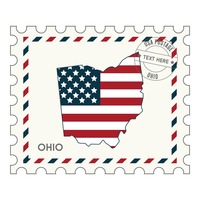 Ohio postage stamp